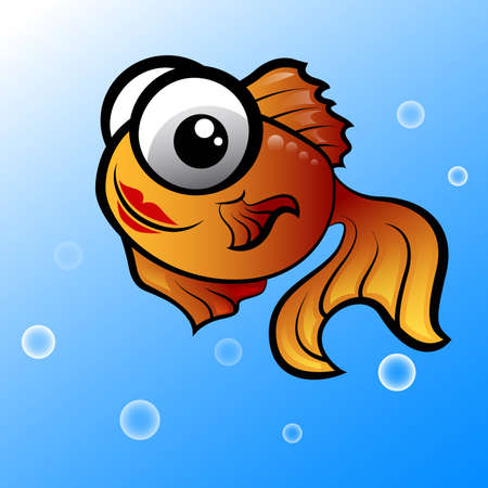 cute fish vector Vector