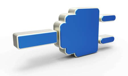 amperage: electric plug icon