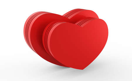 love red hearts Stock Photo - 17747538