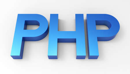 PHP language code  Stock Photo - 17747546