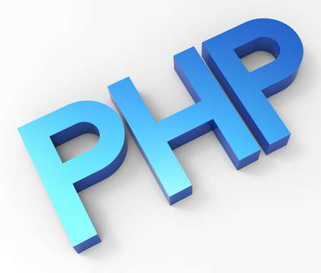 php: PHP 3D Stock Photo