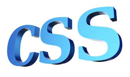 CSS code 3D Stock Photo - 18101493
