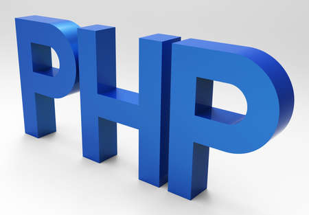 PHP 3D  Stock Photo