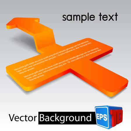 plus arrow background Stock Vector - 19000435