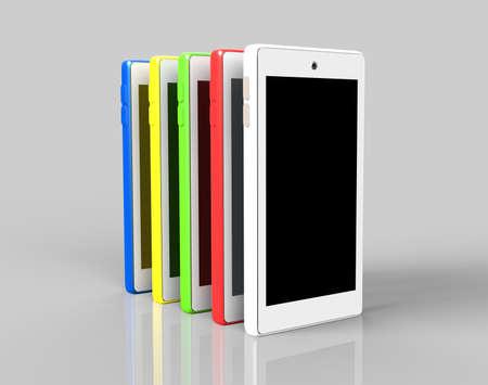 five colors of smartphone