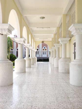 Pattani central mosque Thailand Stock Photo