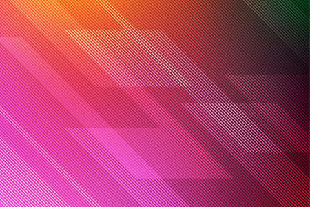 Abstract pink background with lines Illustration