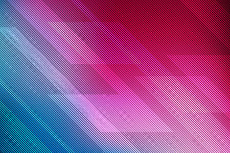 abstract pink and blue background with lines. illustration technology.