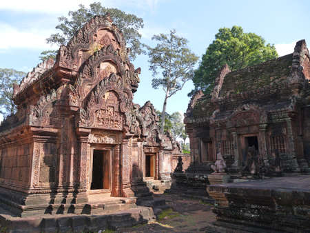 civilisations: Temple of women Banteay Srei, Cambodia