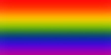 amor gay: Bandera LGBT con efecto de desenfoque