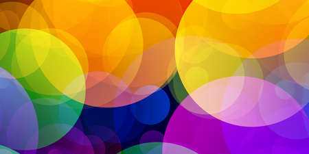 bisexual: LGBT flag with Gradient Circles Effect Stock Photo