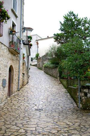Street on the village
