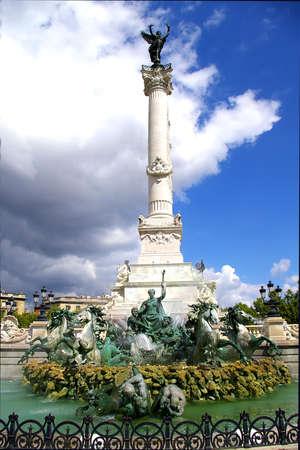 Fountain of Girondin of Bordeaux