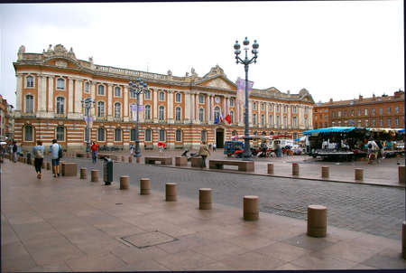 PLACE Of PANYHEON IN TOULOUSE