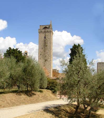 garden in Tuscany Banco de Imagens