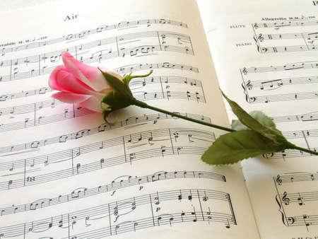 sheet of music Stok Fotoğraf