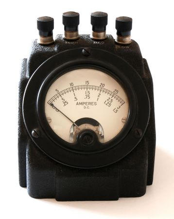 Elektronische meter Stockfoto - 869354
