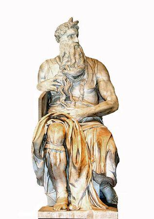 Moise by Michelangelo Roma