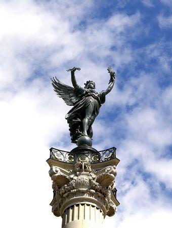 Genius  of liberty in Bordeaux France