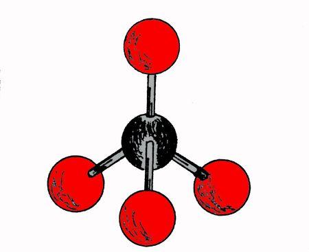 structural model of molecule
