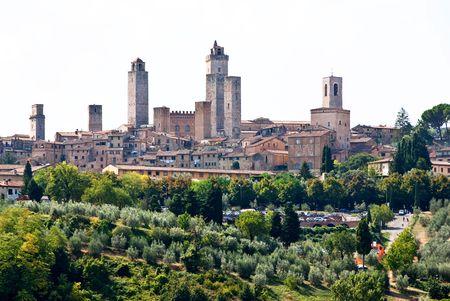 Panorama of San Gimignano