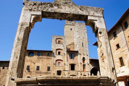 San Gimignano city registered on Unescao Patrimony