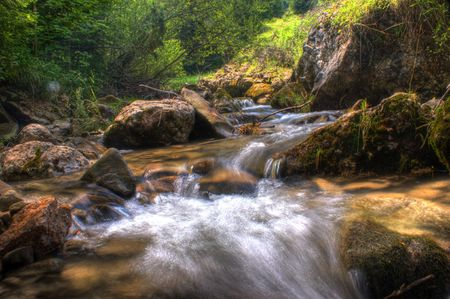 Polish mountain range in Pieninski Park Nationality photo