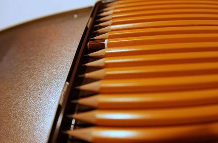 grafite: Professional Pack matite di grafite  Archivio Fotografico