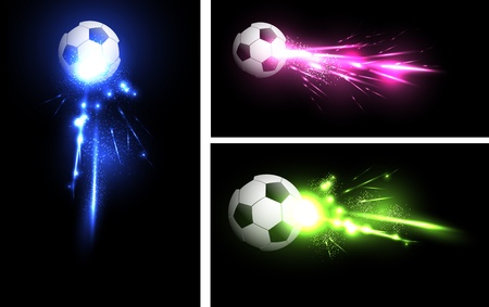 light football banner Vector