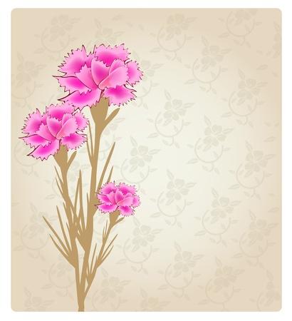 Romantic Flower Background banner Stock Vector - 11243708