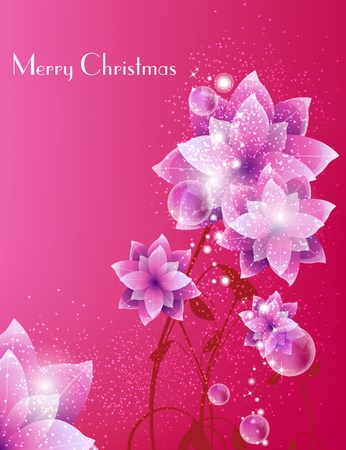Merry Christmas Elegant Background for Greetings Card Vector