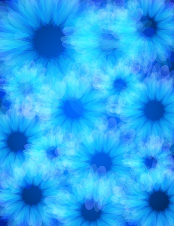 Blue energy light background, Eps 10 Vector