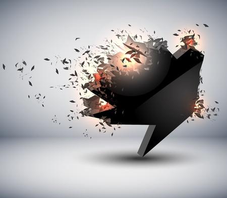 Speech Bubble explosief
