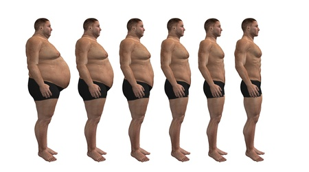 Man diets, fitness design photo