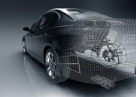 xenon: Tech car design
