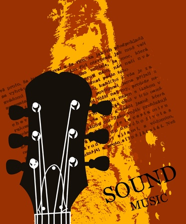 music poster background Vector