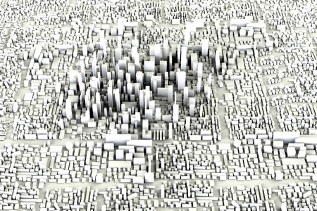 Modern City Concept photo