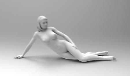 Beautiful naked body Stock Photo - 13693563