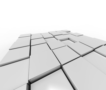 shiny cubes photo
