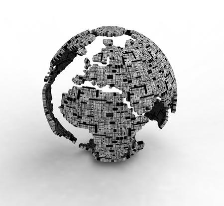 south east asia: 3d Globe Maps