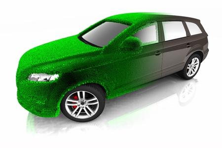 Eco car concept photo