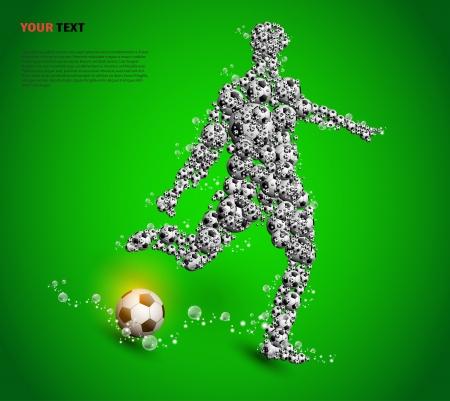 football poster Stock Vector - 13994086