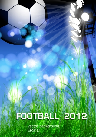 football flyer design Vector