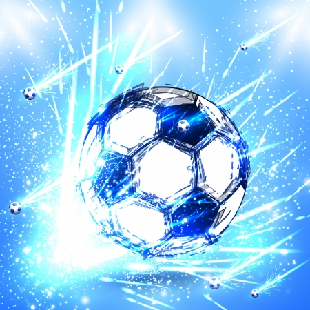 light soccer stage  Vector