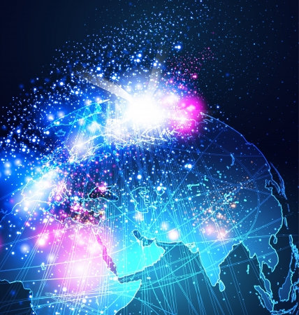 electronical: Abstract Earth Background Vector