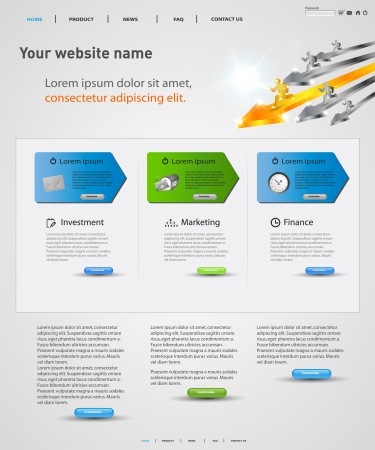 web design vector concept, easy editable Vector