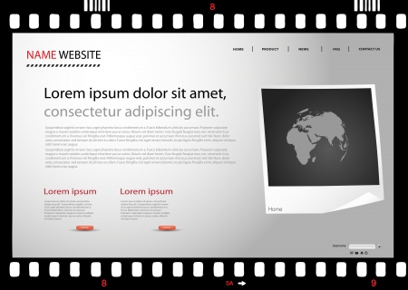 35mm: modern photo web site template
