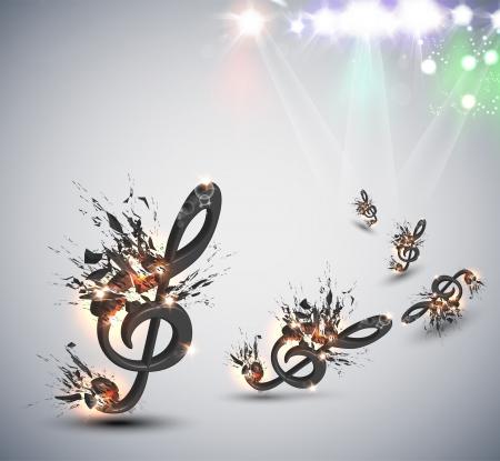 Muziek Melody Achtergrond