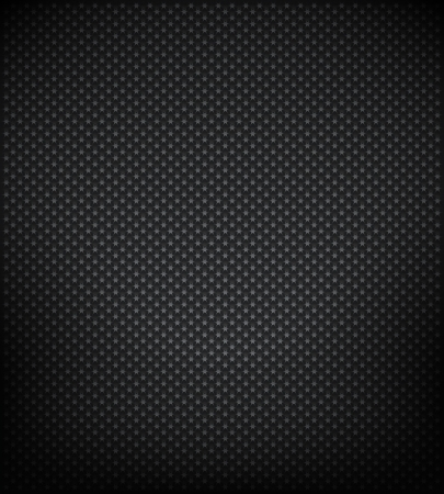 carbon fibre: Star metal  background Illustration