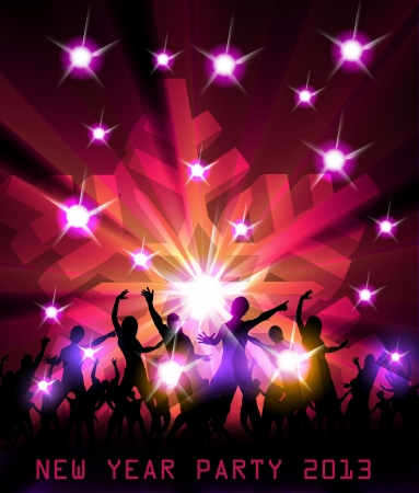 New Year Party Design Illustration Stock Vector - 16800751